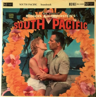 V/A ‎- Rodgers & Hammerstein's South Pacific: Original Soundtrack (LP) (G+/G++)